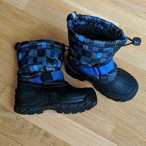 Boys winter warm snow boots